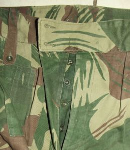 Rhodesia Army Camo Field Trousers 1