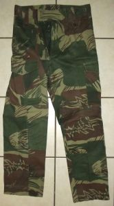 Rhodesia Army Camo Field Trousers