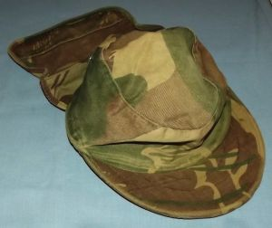 Rhodesia Army Camo Neck Flap Field Cap
