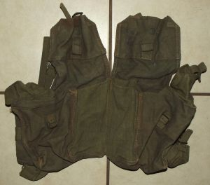 Rhodesia Army Webbing Kidney Pouch Pack 1