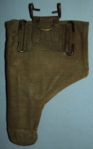 Rhodesia Army Webbing Pistol Holster 1