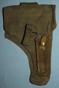 Rhodesia Army Webbing Pistol Holster