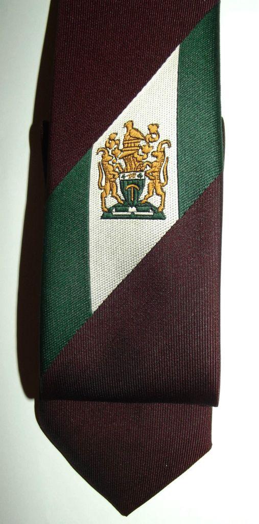 Rhodesia Coat of Arms Insignia Tie