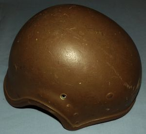 South Africa SADF Bush War Armoured Car Operator Nutria Helmet 1