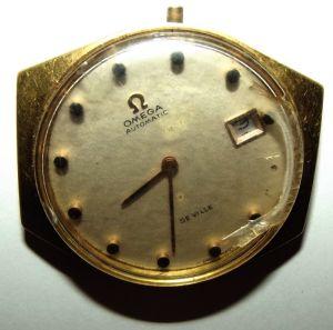 Vintage OMEGA Automatic De Ville Wrist Watch Face