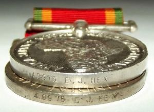 WW2 South African War and Africa Service Full Size Medal Pair 1