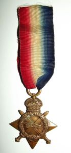 WW1 South African 1914-15 Star Full Size Medal