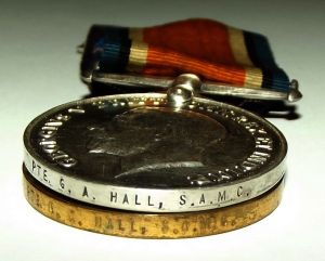 WW1 South African Bilingual Dutch Victory Medal Pair 3