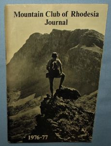 1976-77 Mountain Club of Rhodesia Journal Booklet