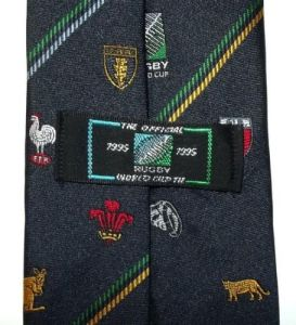 Official 1995 Rugby World Cup Tie 2