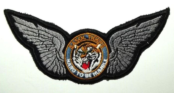 South African SASOL Tigers Hard to be humble Wing Badge