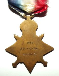 WW1 British 1914 Star Full Size Medal 2