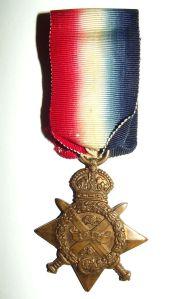 WW1 British 1914 Star Full Size Medal