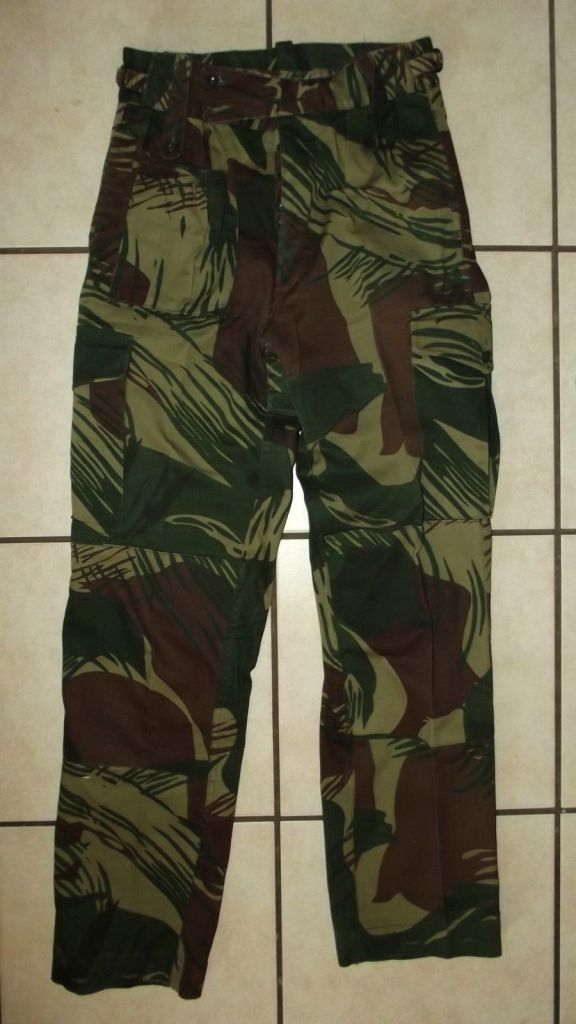1977 Rhodesia Army Camo Field Trousers