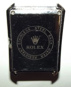 ROLEX Oyster Perpetual Date Just Wrist Watch Face and Case for Parts 2