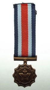 South Africa SADF Military Merit Miniature Medal
