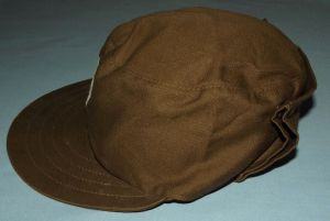 South African Homeland Transkei Police Nutria Neck Flap Field Cap 2