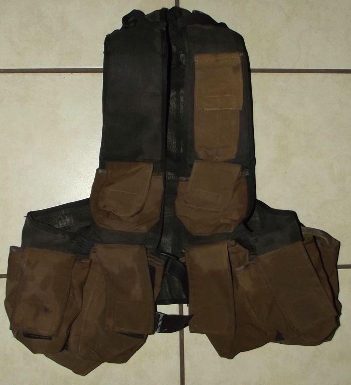 South West Africa SADF Army Pattern 83 Nutria Battle Jacket Ammunition Vest