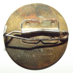 Rhodesia Bulawayo 75th Anniversary Metal Lapel Pin Badge 2