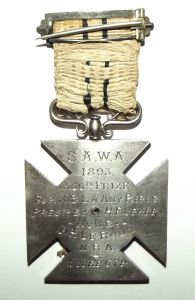 1893 South Africa Rifle Shooting Prize Medal 2