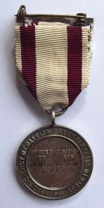 1968 South African Red Cross Silver Marked Proficiency Medal 2