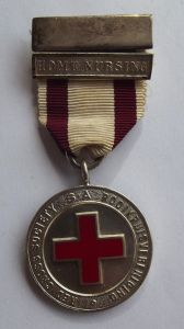 1968 South African Red Cross Silver Marked Proficiency Medal