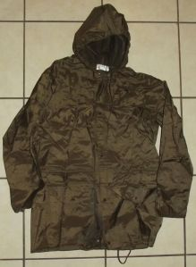 South Africa SADF Army Border War Nutria Field Rain Coat