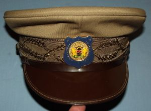 South African Oudtshoorn Traffic Department Peak Cap