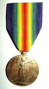 WW1 South African Bilingual Dutch Victory Medal 2