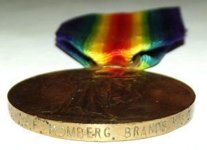 WW1 South African Bilingual Dutch Victory Medal 3