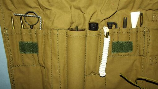 South Africa SADF Army Border War Webbing Rifle Cleaning Kit 2
