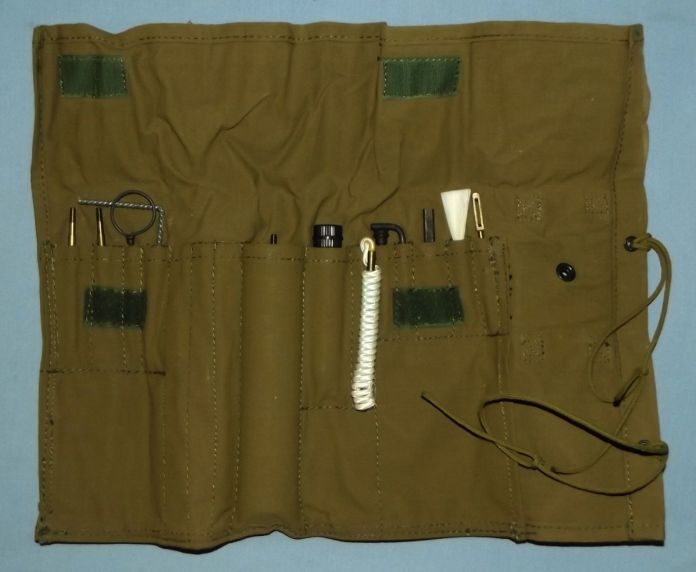 South Africa SADF Army Border War Webbing Rifle Cleaning Kit