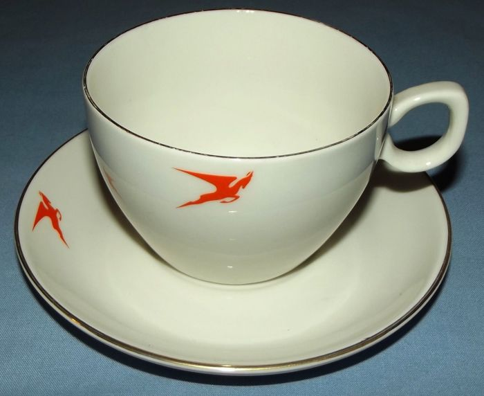 South African Airways Flying Springbok Cup and Saucer