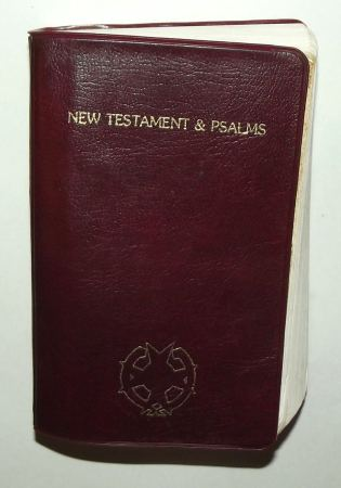 1988 South Africa SADF Chaplain Service English Pocket Bible