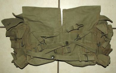 Rhodesia Army Webbing Kidney Pouch Pack 2