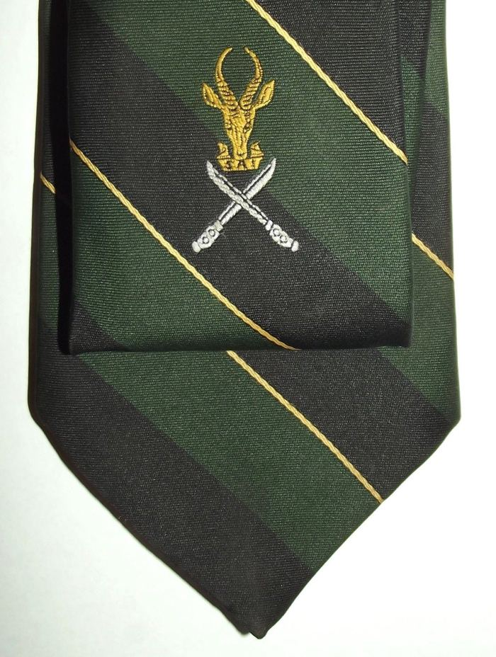 South Africa SADF Infantry Insignia Tie