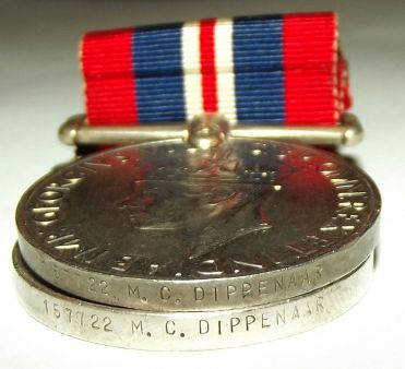 South Africa WW II 1939-45 War and Africa Service Medals 2