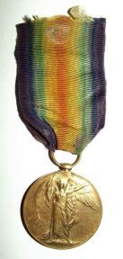 WW1 South African Bilingual Dutch Victory Medal 2