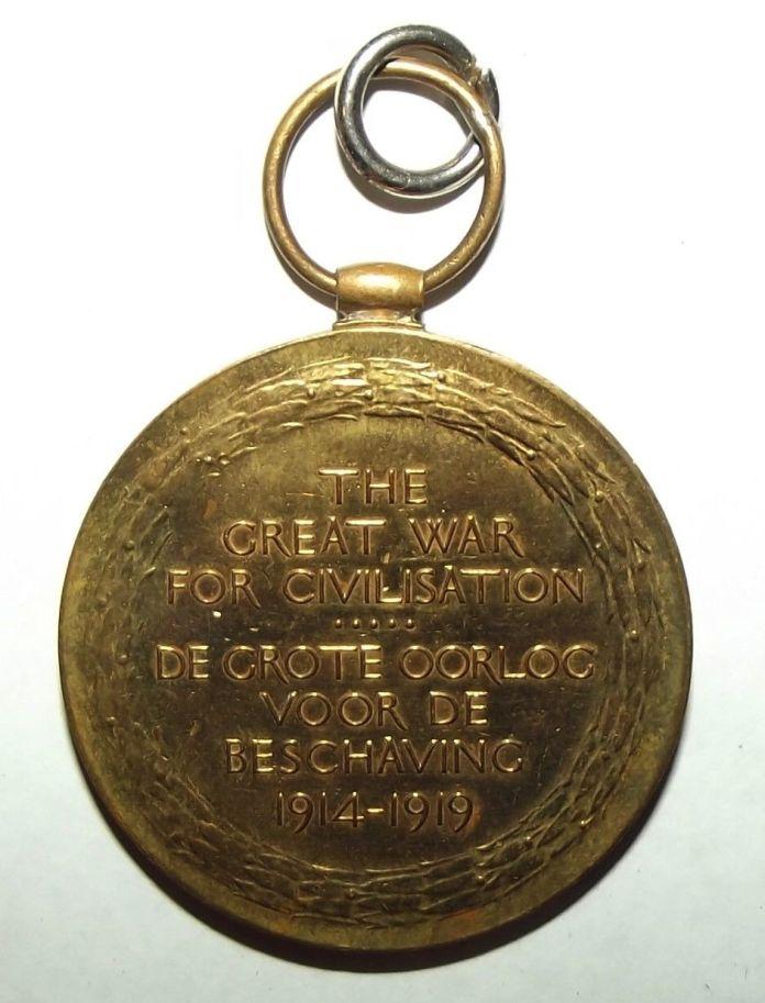 WW1 South African Bilingual Dutch Victory Medal