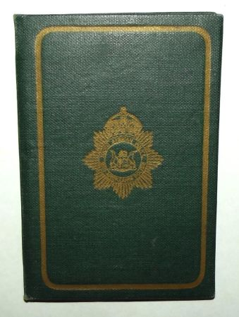 1954 South African Police 1st Class Sgt Certificate of Appointment ID Booklet 2