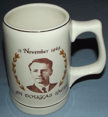 11 November 1965 Rhodesia Independence Ian Smith Beer Mug