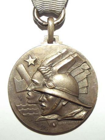 1935-36 Italian Fascist Ethiopia Colonial Medal