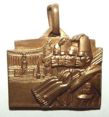 1936-37 Italian Fascist Colonial Askari Medal