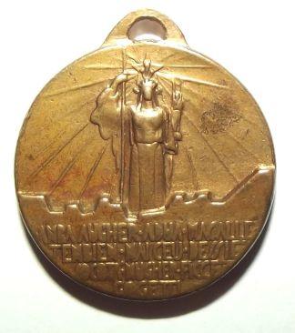 Italian Colonial 9th Group Artillery Medal 2
