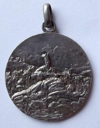 Italian Colonial VI Battalion Eritreo Officers Silver Medal 2