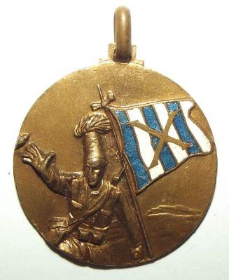 Italian Colonial X Battalion Medal