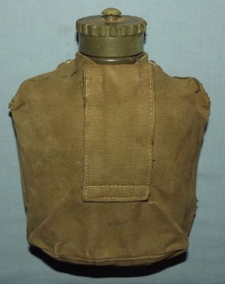Old Rhodesia Army Water Bottle and Carrier 2