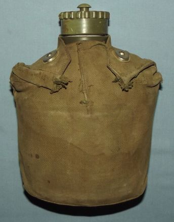 Old Rhodesia Army Water Bottle and Carrier