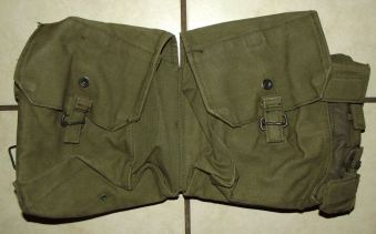 Rhodesia Army Webbing Kidney Pouch Pack