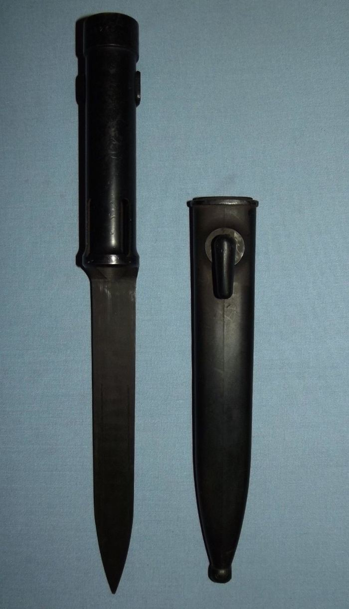 South Africa SADF Army Border War R1 Rifle Bayonet and Scabbard
